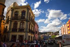 Zona Centro (wegstudio) Tags: mexico city streets architecture arquitectura buildings guanajuato gto