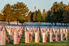 May 28, 2017 - Paying respects at Fort Logan National Cemetery. (Tony's Takes)