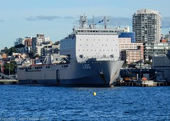 Royal Australian Navy - Landing Ship HMAS Choules at Fleet Base East (Garden Island) (john cowper) Tags: royalaustraliannavy hmaschoules gardenisland fleetbaseeast sydneyharbour sydney newsouthwales