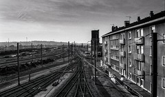 villeneuve St Georges, triage, 11 (Patrick.Raymond (3M views)) Tags: 94 banlieue industrie usine rail gare triage sncf train argentique tmax nikon expressyourself