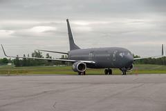 Fuerza Aérea Mexicana 737-800 (Ychocky) Tags: 3528 70300mmf4556 boeing7378zy cyow fuerzaaéreamexicana mexicanairforce nikkor ottawamacdonaldcartier yow