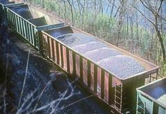 MP Ballast Hopper 16436 (Chuck Zeiler) Tags: mp 16436 railroad ballast hopper freight cat train chuck zeiler chz cotter