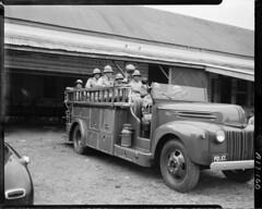 Fire Brigade, Samoa, 1949