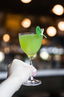 Annarita ($11) - 1800 Tequila, green Chatreuse, orange and lime juice, spinach, celery bitters