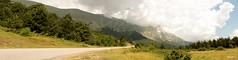 ...On the road again... (kali_merette2002) Tags: montevettore montagne mountain italie italy italia abruzzes norcia marches ombrie nature landscape paysage route road clouds nuages