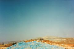 IDF camp PV 68 (Normann Photography) Tags: 1992 fntjeneste forsvaret idf kontigent29 lebanon libanon peacecorps unservice unifil unitednations unitednationsinterimforceinlebanon blue camp dust footpatrols peacekeepers