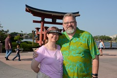 "Tracey and Scott in Japan at Epcot • <a style=""font-size:0.8em;"" href=""http://www.flickr.com/photos/28558260@N04/34431277130/"" target=""_blank"">View on Flickr</a>"