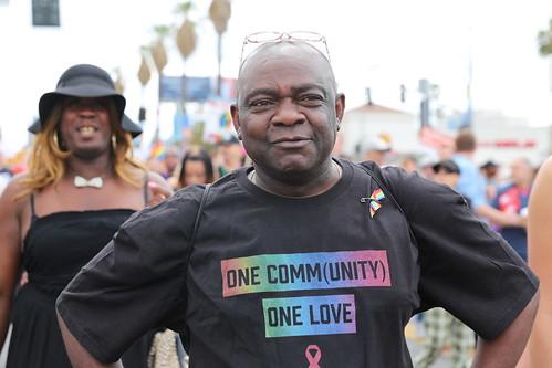 Los Angeles Pride Resist March 2017