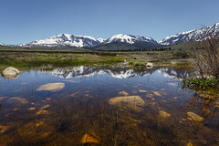 Mono Basin Vernal Pool (Jeffrey Sullivan) Tags: vernal pool reflection spring monobasin sierranevada pond puddle easternsierra monocounty leevining california sunset canon eos 6d night landscape nature travel photography star trails photo copyright 2017 may jeff sullivan