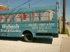 At Wabash Feed & Garden (Iggy & StarCat) Tags: closeup houston landscapeurban machine oakforest outdoor sign sky texas truck x100 leica digilux
