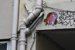 Gzup_4702 passage du Jeu de Boules Paris 11 (meuh1246) Tags: streetart paris gzup passagedujeudeboules paris11 joconde monalisa leonarddevinci