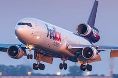 Huge MD11 morning arrival - CDG (Karl-Eric Lenne) Tags: