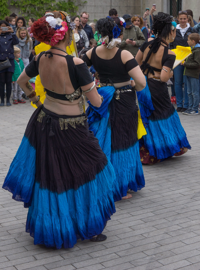 The Zoryanna Dance Troupe Tribal Belly Dancing [Africa Day 2017 Dublin]-129047