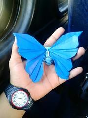 Butterfly - Javier Vivanco (javier vivanco origami) Tags: butterfly origami javier vivanco ica peru