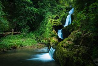 Cascada sin nombre.