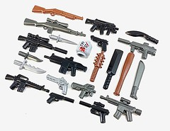 Zombie Defense Pack 2017 (GI Brick) Tags: gibrick wwwgibrickcom brickarms zombie lego legoweapons legosoldier legowwii toyweapons guns moderncombat