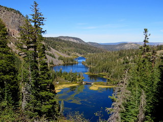 Mammoth Lakes , Blue plus Green equals Bliss