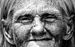 The Sun's Wear and Tear (D()MENICK) Tags: aaw active assignment weekly homeless lady woman face old bestofweek1 bestofweek2 bestofweek3 bestofweek4 bestofweek5