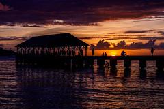 DSCF2848 RAW (Mr Inky) Tags: 18135mmf3556 fujixt1 hanaleibay hawaii kauai sunset