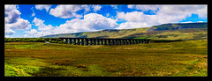 Ribblehead Viaduct (Kev Walker ¦ 7 Million Views..Thank You) Tags: architecture britishculture building canon1100d canon1855mm clouds colorfull countryside england hdr northyorkshire outdoor photoborder postprocessing ribbleheadviaduct themoors tranquil unspoilt village wharfedale yorkshire yorkshiredales