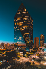 Orange Crush (djgreddy00) Tags: sony sonyimages sonyalpha sonyalphas sonyalphaclub sonyalphasclub sonyphotography sonya7ii sonyalpha7ii sonya7lovers zeiss zeiss1635 zeiss1635mm nightphotography longexposure cityscape skyline dallasskyline dallas downtown