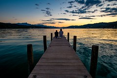 Friendship (Andreas.W.) Tags: friendship freundschaft lake see abendstimmung eveningsun eveninglight eveningmood wörthersee carintia kärnten samyang 12mm f2 weitwinkel wideangle manual manualfocus lakeview