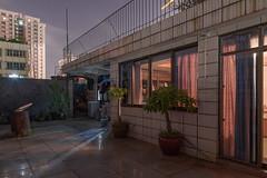 What do we know? (Markus Lehr) Tags: rooftop terrace windows warmlight urban nightshot longexposure asia china markuslehr