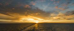 Sunset at sea (greg.42) Tags: dover calais scenicsnotjustlandscapes