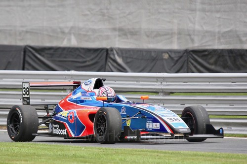 Jamie Caroline in British Formula Four at Oulton Park, May 2017