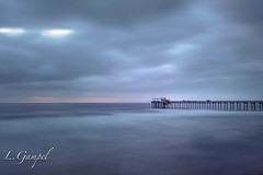 After the sunset (Lgampel) Tags: scrippspier nature water reflections city sonya6500 torreypines rocks california scenery travel longexposure landscapes colors seascape sandiego sky lajolla pacificocean