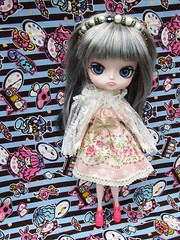 Hilarity new wig chips (TrueFan) Tags: hilarity hoho swap teaparty puddle dal doll groove aliceinwonderland
