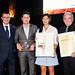 Litografía Rosés recogió el premio de la Pirámide Gremial en la Gala Gràfica de 2017. Foto: Toni Prim.