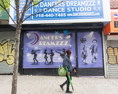 Dancers Dreamzzz Canvas Paiting (2016) by Tats Cru, Foxhurst, Bronx, New York City (jag9889) Tags: 2017 20170605 bg183 bio canvas dance dancer gate graffiti graffitiartist how muralist nosm nicer outdoor painting studio tagging tatscru themuralkings woman jag9889 newyork unitedstates us allamericacity bronx foxhurst ny nyc newyorkcity thebronx usa unitedstatesofamerica