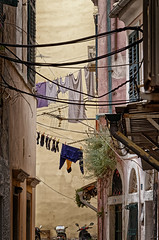 Lines (Alfred Grupstra) Tags: street architecture urbanscene house cultures town old city narrow buildingexterior alley outdoors builtstructure tourism village travel traveldestinations famousplace europe cityscape