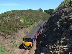 150121 & 150106 Carrack Gladden (2) (Marky7890) Tags: gwr 150121 150106 class150 sprinter 2a28 carrackgladden carbisbay railway cornwall stivesbayline train