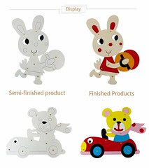 Cute Easter Bunny Painting Decoration Rabbit Cardboard Craft Kids Draw Art Set Drawing Educational Toy Children Paint Games Gift (2) (papermakertoys) Tags: cute easter bunny painting decoration rabbit cardboard craft kids draw art set drawing educational toy children paint games gift