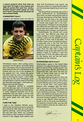 Norwich City vs Luton Town - 1991 - Page 13 (The Sky Strikers) Tags: norwich city luton town barclays league division one carrow road official matchday programme pound twenty