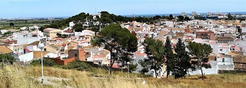 Vista panorámica del Puig desde el Castillo