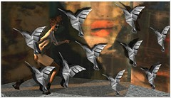 Birds (tralala.loordes) Tags: unorthodoxsmith shi ison haysuriza maitreya hitchock thebirds origami newsprint alletare coco tralalaloordes