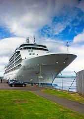 'Silver Whisper', Leith Docks, Edinburgh (Joe Son of the Rock) Tags: silverseacruises silverwhisper ship cruiseship leith docks harbour leithdocks edinburgh oceanterminal westernharbour firthofforth liner oceanliner