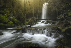 Hedgecreek Falls - Dunsmuir, CA (wesome) Tags: adamattoun hedgecreekfalls hedgecreek dunsmuir