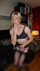 P1090934 (magda-liebe) Tags: paris tatoo travesti crossdresser french shoes tgirl highheels stockings fullyfashionedstockings