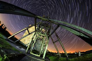Magpie Mine under the stars