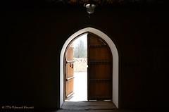 Antique Door باب قديم (Mohammed Almuzaini) Tags: مسجد باب آثار mosque door antique old building islamic