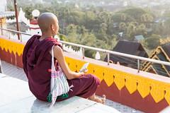 Myanmar, Mawlamyine, Kyaik Than Lan pagoda (ThibaultVoisin) Tags: myanmar mawlamyine kyaikthanlanpagoda