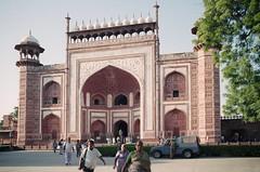 Agra - Taj Mahal - Great Gate