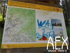 Sentiero 33-14 (Cicloalpinismo) Tags: sentiero 33 pasquilio passo della focoraccia cicloalpinismo apuane extreme aex alpi parco cai appennino foce monte vetta escursione trekking mountain bike mtb ciclismo