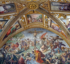 Church of Certosa di San Martino, Naples, Italy (SomePhotosTakenByMe) Tags: painting gemälde ceiling decke malerei kunst art certosadisanmartino church kirche indoor urlaub vacation holiday italy italien naples napoli neapel city stadt vomero