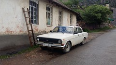 Taz car parked near Akhtala Monastery (Ivan the Hammer) Tags: taz cars armenia