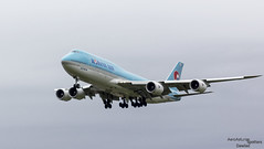 B747 HL7632 Korean Air (Dawlad Ast) Tags: aeropuerto internacional international airport londres london heathrow lhr mayo may 2017 avion airplane plane myrtles ave boeing 7478b5 hl7632 korean air sn 40907 b747 747800 b748 747 jumbo